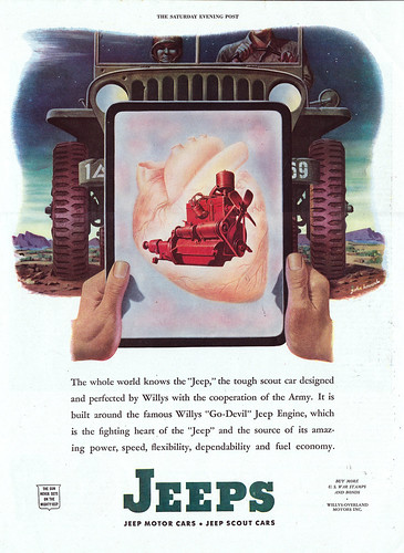 "John Howard 1944 Saturday Evening Post ""The Fighting Heart of the Jeep"" by ThisOldJeepDotCom"