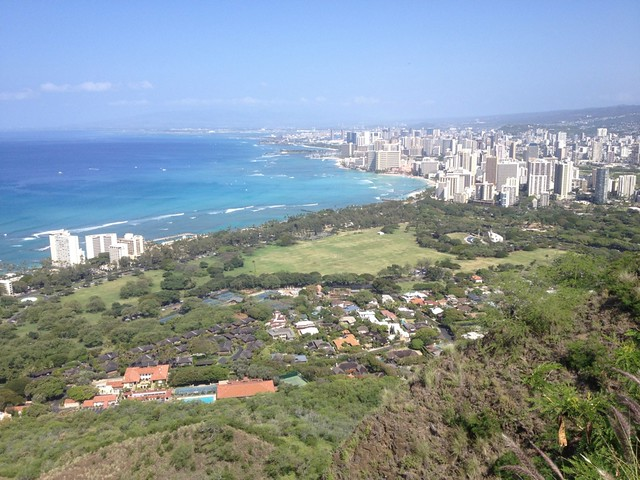 view from diamond head - photo #47