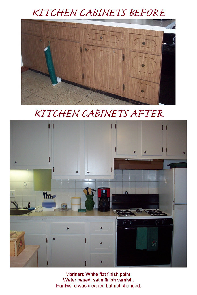 how to clean sticky wood kitchen cabinets
