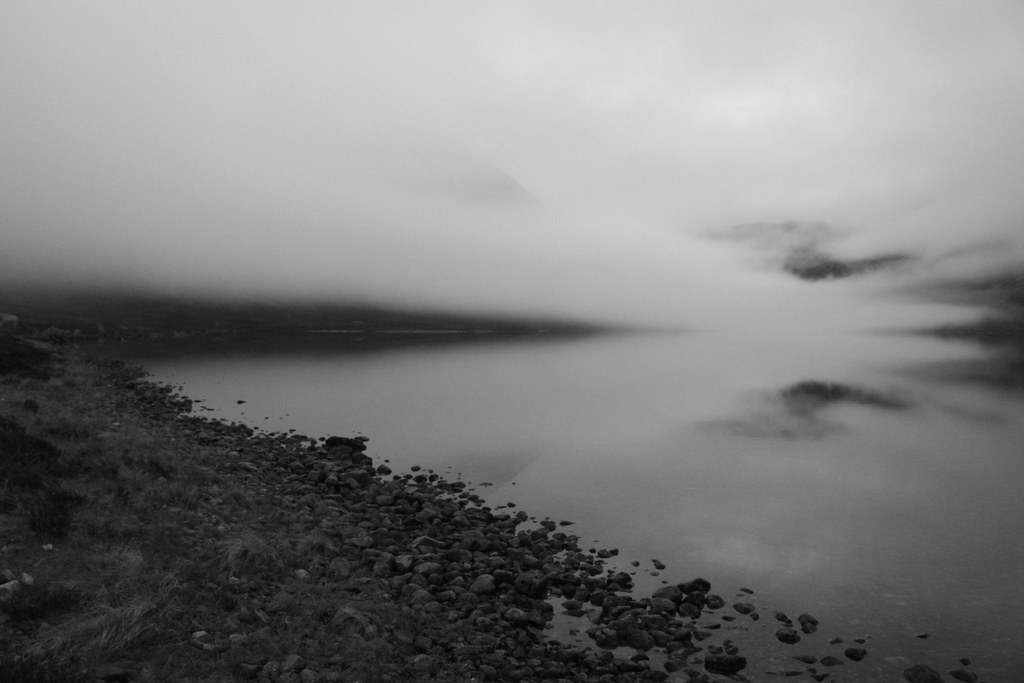 Clouds over Loch Einich