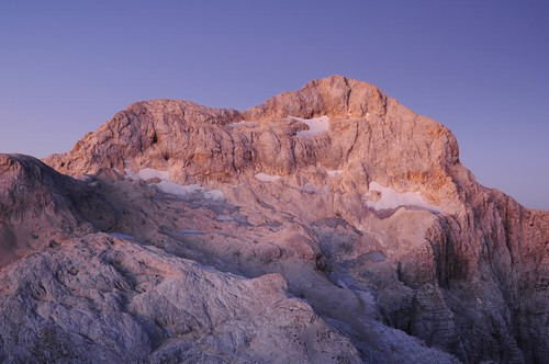 Triglav at dawn