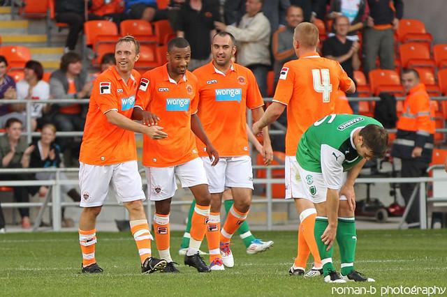 Blackpool FC v Hibernian 03 | Flickr - Photo Sharing!