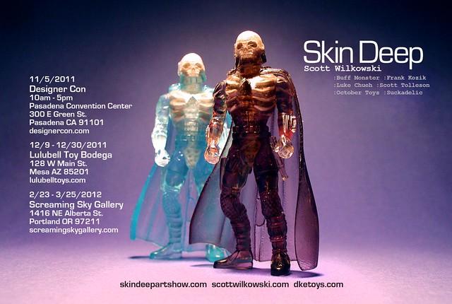 Skin Deep by Scott Wilkowski (postcard back)