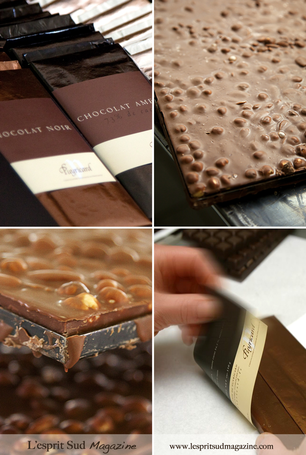Chocolate bars - Puyricard atelier