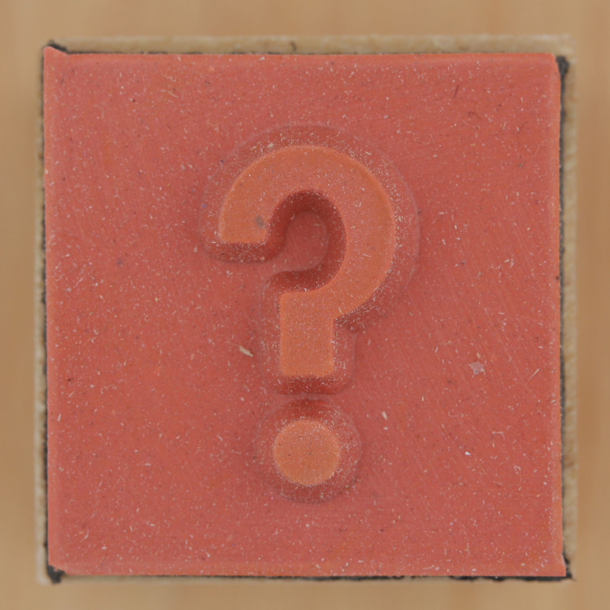 Rubber Stamp question mark | Flickr - Photo Sharing!