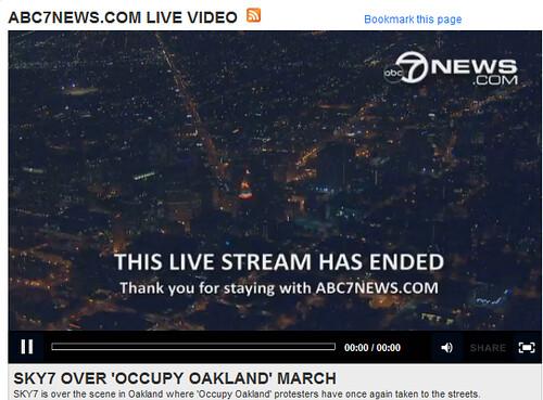 OccupyOaklandLifeFeedHasEnded