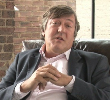 Stephen Fry up
