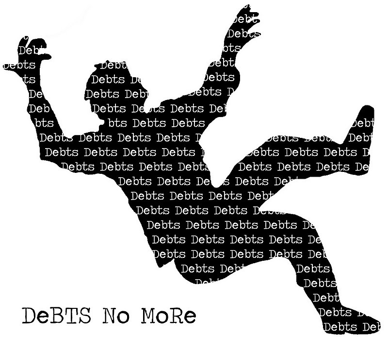 DEBTS NO MORE
