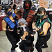 Long Beach Comic & Horror Con 2011 - Mortal Kombat family