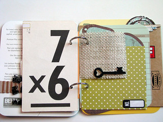 "Upcycled ""Junk"" Journal/Mini Album"
