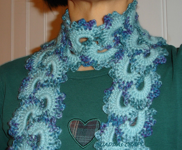 Free Crochet Pattern Queen Anne Lace Scarf : QUEEN ANNES LACE CROCHET PATTERN ? Easy Crochet Patterns
