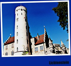 Castle Lichtenstein, Tower for the flags
