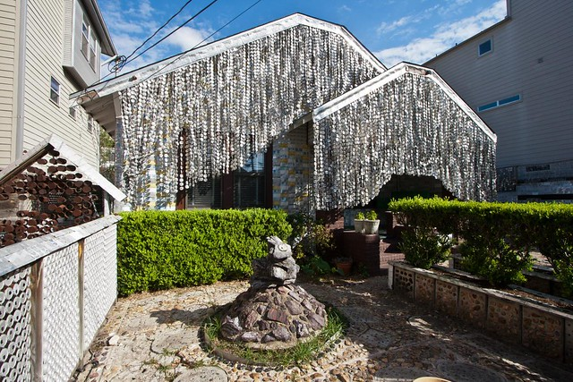 Beer Can House in Houston, Texas by Flickr user cybertoad