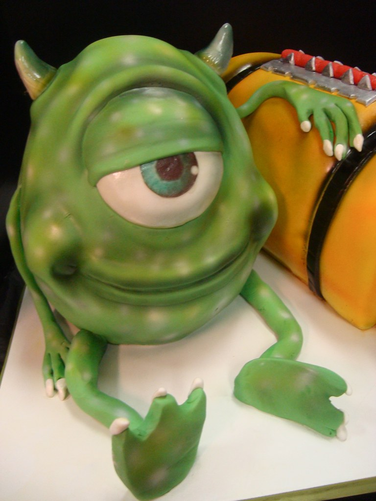monsters inc cake close