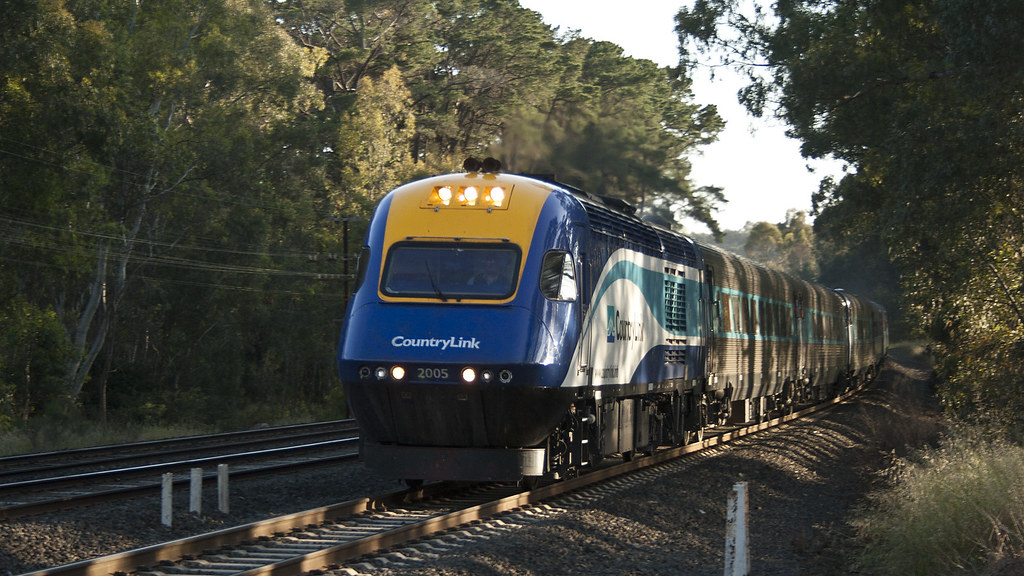 Melbourne-bound XPT by michaelgreenhill