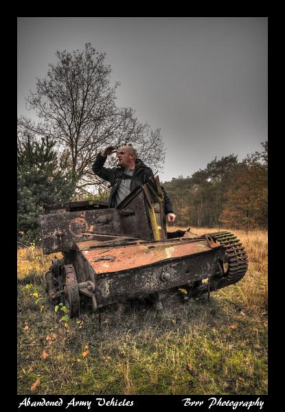 Abandoned Military Vehicles