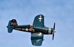 aviation, military aircraft, airplane, propeller driven aircraft, vehicle, air racing, vought f4u corsair, propeller, aircraft engine, air show,