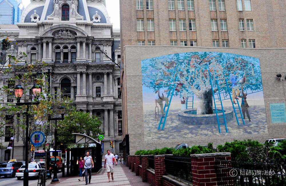 Tree of Knoledge Ale & Art Mural Tour in Philadelphia, Pennsylvania