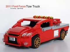 2011 Ford Focus Tow Truck