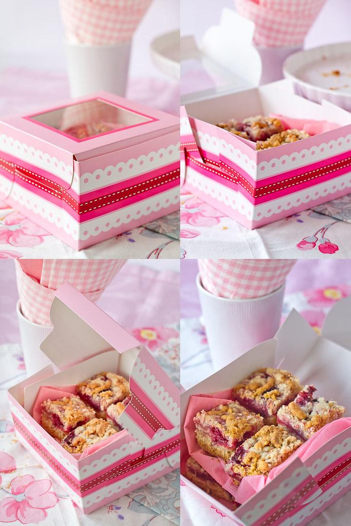 Gluten free streusel cake