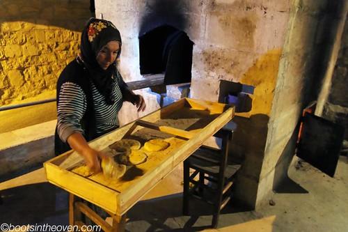 Making Bread in the Tandır