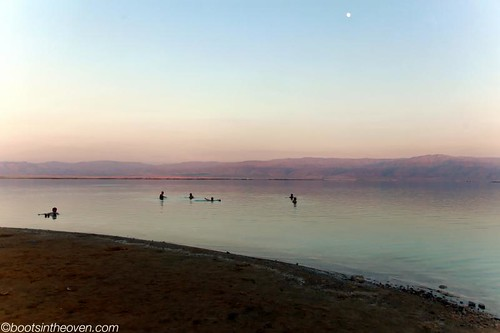 The Dead Sea at dusk