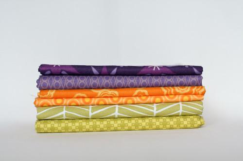 Purple, Yellow-orange, Yellow-green by jenib320