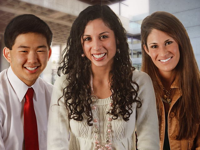 Asian and Hispanic People