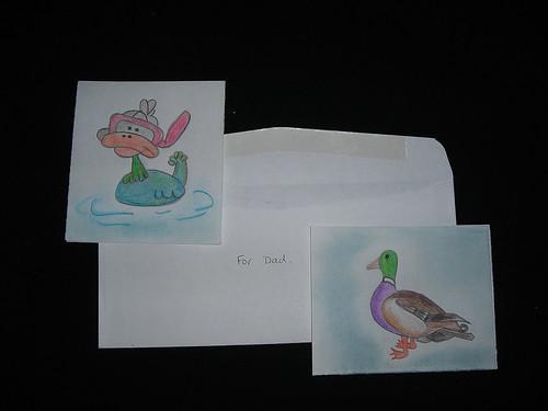Ducks. jail Art