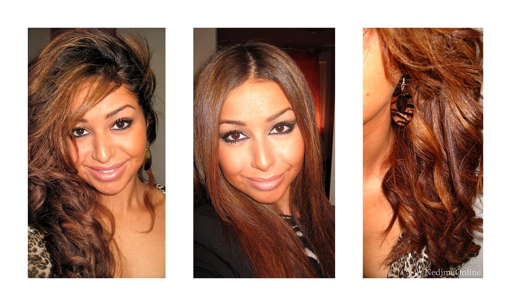 aprs mtre fait couper et coiffer les cheveux par mon deuxime coiffeur attitr - Eclaircir Cheveux Noir Color
