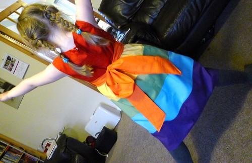 Kitschy Coo Rainbow Dress