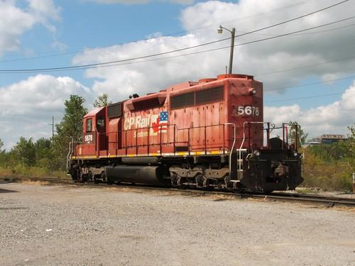 ohio yard pacific indiana railway delta emd sd402 canandian nrex nrex5678