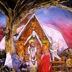 Painting Midvinterblot