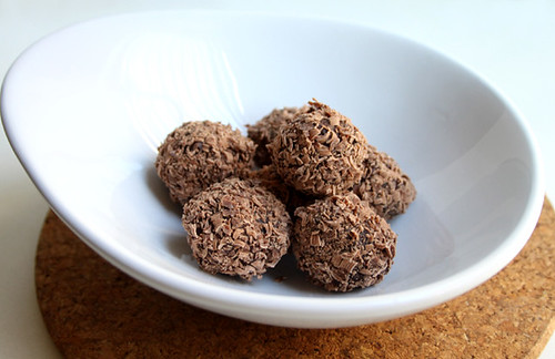 Chocolate Pumpkin Truffles