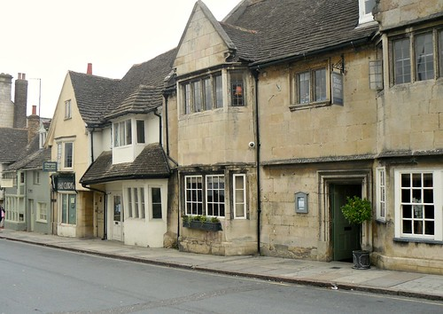 Old buildings in Stamford,Lincolnshire