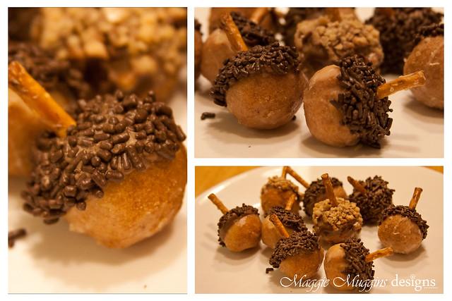 Acorn Doughnut Holes