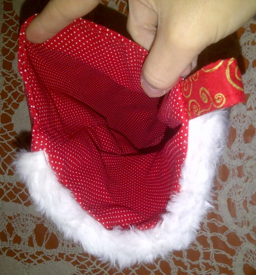 A Stocking Lining...