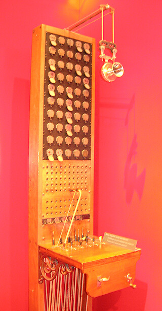 Manually operated switchboard