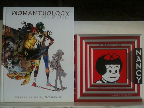WOMANTHOLOGY: HEROIC and NANCY: 1943-1945 are here!