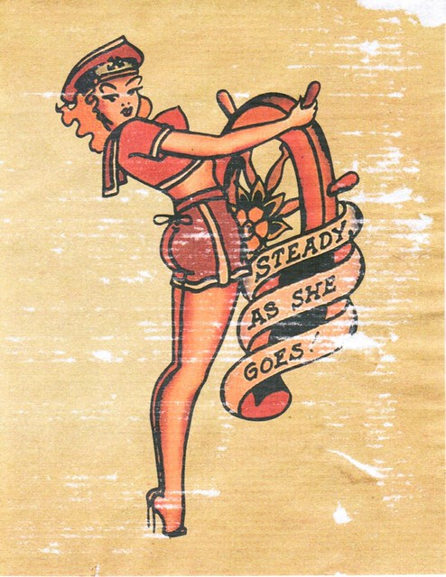 Sailor Jerry Pin-up Girl