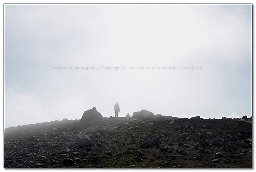 Pizzi Deneri, Etna - Fading in the fog