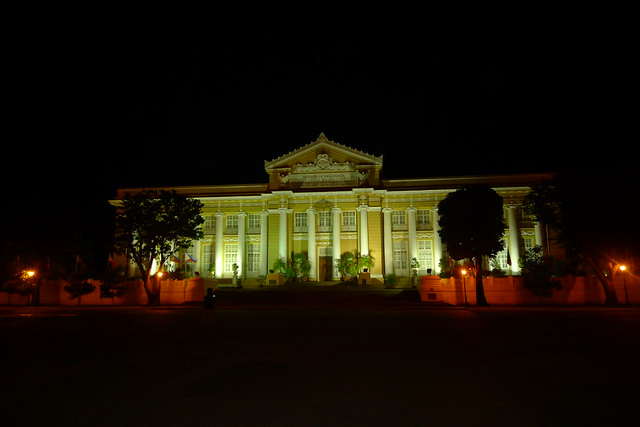 Pangasinan Provincial Capitol at Night