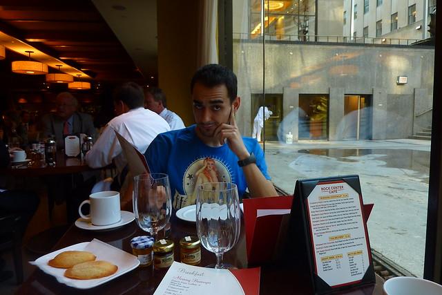 0954 - Breakfast @ Rock Center Cafe