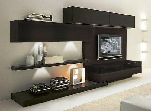 Modular lcd rack panel tv moderno living progetto mobili modulares a ars 3540 en preciolandia - Melamina mobili ...