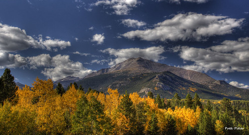 fall landscapes colorado hdr