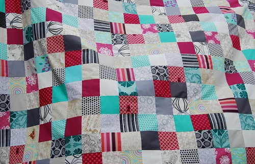 Dead Simple Quilt top pieced