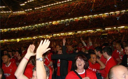 Lots of happy fans.