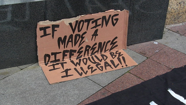 If voting made a difference