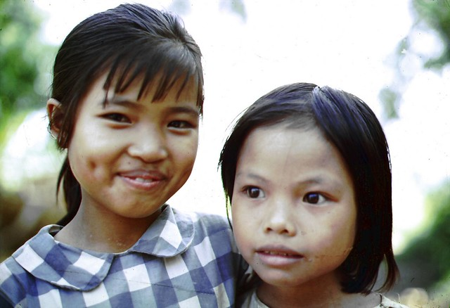 Quang Tri 1967 - Dong Ha Dist. Cam Hieu Village - Photo by Edward Palm
