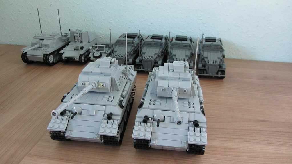 BrickMania Kit Collection (German Armoured Division)   Flickr